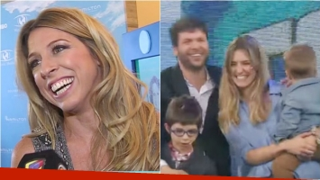 Florencia Bertotti, feliz por el nacimiento de Helena, la hija de su ex Guido Kaczka: