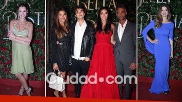 Los famosos asistieron al debut de La Bella y la Bestia.