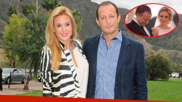Jésica Cirio y Martín Insaurralde, embarazados de dos meses. El intendente de Lomas de Zamora recibió la noticia con gran emoción.