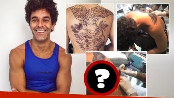 Mirá el tremendo tatuaje de Mariano Martínez (Foto: Instagram)