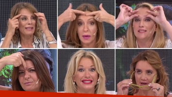 Yanina Latorre, Nancy Pazos, Carmela Bárbaro, Nequi Galotti, Andrea Taboada y a Analía Franchín