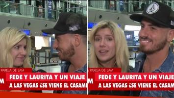 El primer viaje romántico de Federico Bal y Laurita Fernández, y el sincericidio de ella frente a él.