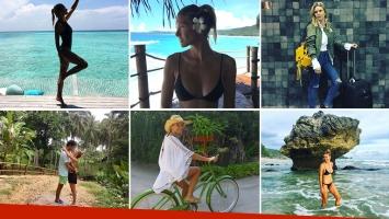 El álbum de fotos de la luna de miel de Sofía Zámolo y Joe Uriburu por Qatar, Islas Maldivas e Indonesia
