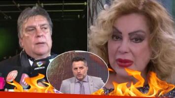 La furia de Luis Ventura contra Beatriz Salmón.