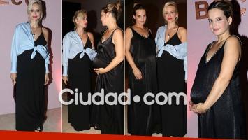 Brenda Gandini y Sabrina Garciarena lucieron sus pancitas (Foto: Movilpress)