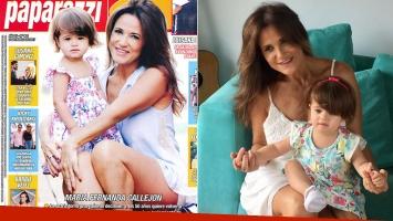 María Fernanda Callejón quiere volver a ser mamá (Foto: revista Paparazzi e Intagram)