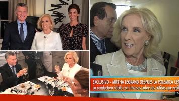 Mirtha Legrand habló de las repercusiones de su entrevista con Mauricio Macri