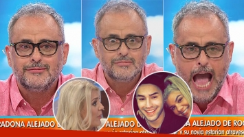 El datazo sobre el novio de Morena que Rial se enteró en vivo