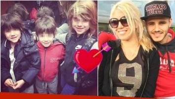 La traición del hijo de Wanda Nara a Mauro Icardi (Fotos: Web e Instagram)