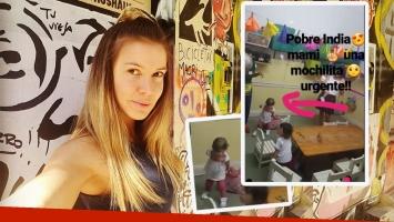 El divertido blooper de la hija de Dallys Ferreira