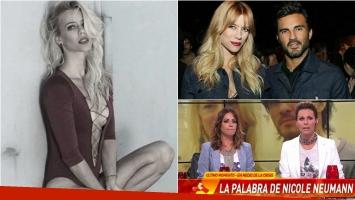Nicole Neumann habló en Infama sobre los rumores de separación de Cubero