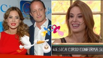 ¡Viene la cigüeña! Jésica Cirio confirmó su embarazo