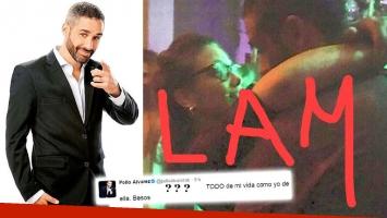 El tweet del Pollo Álvarez, tras su foto mimosa en un boliche con Barbie Vélez