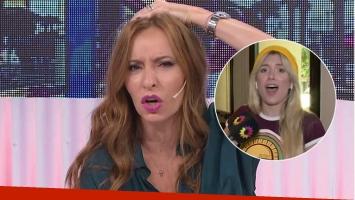 La ácida crítica fashion de Analía Franchín a Laurita Fernández en vivo.