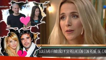 El palito de Soledad Fandiño ¿para Nicolás Cabré?: