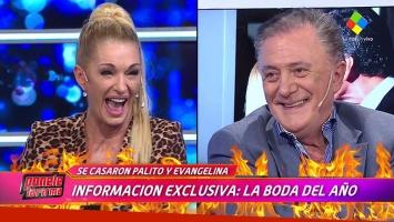 La declaración de amor de Lucho Áviles a Yanina Latorre