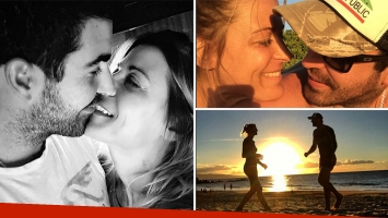 Marthin Cevasco y Eugenia Tobal, enamoradísimos en Instagram y la vida real. (Foto: Instagram)