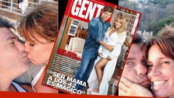 Florencia Peña confirmó su embarazo, junto a Ramiro Ponce de León (Foto: web y Gente)