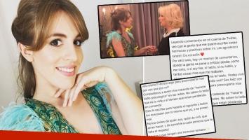 Contundente descargo de Laura Esquivel tras ser agredida en Twitter (Foto: Instagram)
