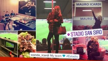 ¡A todo lujo! Wanda mostró cómo es el increíble palco VIP privado de Icardi en el estadio San Siro