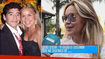 """Verónica Ojeda reveló los juegos sexuales que hacía con Maradona: """"A Diego le gusta que me disfrace de mujer policía"""""""