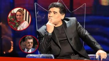 La reacción de Diego Maradona cuando le preguntaron qué opinaba de Rocío Oliva en el Bailando