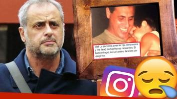 La foto retro que emocionó a Jorge Rial en Instagram.