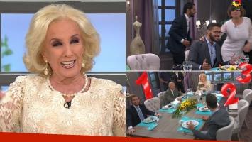¡La dejaron sola! Joaquín Furriel, Araceli González y Alejandro Lerner abandonaron en vivo la mesa de Mirtha: el video del insólito momento
