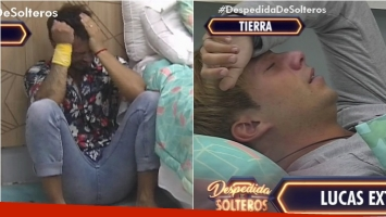 El llanto de Lucas y Facundo a un paso de conocerse los finalistas de Despedida de solteros