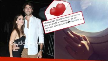 La tierna dedicatoria de Lali Espósito a su novio en Instagram (Fotos: Ciudad.com e Instagram)