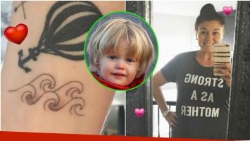 El emotivo tatuaje de la hermana de Michael Bublé tras las buenas noticias sobre la salud de Noah (Fotos: Instagram y Web)