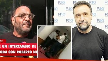 Baby Etchecopar admitió la pelea con Roberto Navarro: