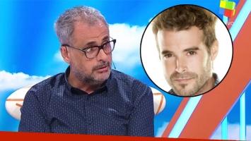 Jorge Rial y un picante comentario sobre Nicolás Cabré por su relación con la prensa