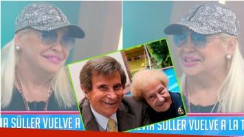 El desubicado comentario de Silvia Süller en su debut de Cuestión de Peso tras la muerte de Tita Soldán (Fotos: Captura y Web)