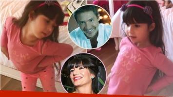 El divertido video de Suar con su hija Margarita: