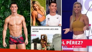 María Sol Pérez habló de los likes que le da Cristiano Ronaldo en Instagram