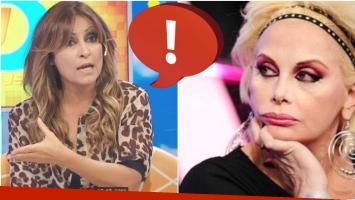 El enojo de Marcela Tauro con Carmen Barbieri en Intrusos (Fotos: Captura y Web)