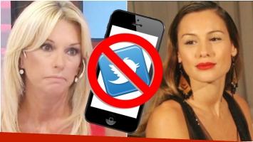 Yanina Latorre reveló que Pampita la tiene bloqueada en Twitter y explicó sus motivos (Fotos: Web)