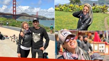 El álbum de viaje de Virginia Gallardo junto a su novio en California (Foto: Instagram)