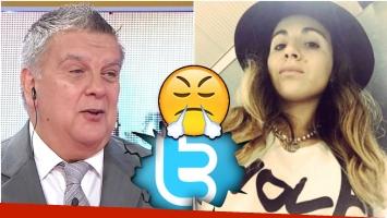 La información de Luis Ventura que hizo estallar a Gianinna Maradona en Twitter (Fotos: Captura y Web)