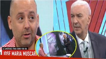 El tenso chispazo entre Mauro Viale con José María Muscari. Foto: Captura