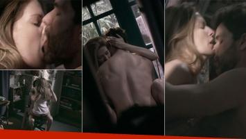 La escena súper hot de Mariano Martínez e Isabel Macedo en ADDA (Foto: web)