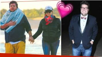 Darío Barassi, amor y paseo en Punta del Este con su esposa (Fotos: revista Pronto y Web)