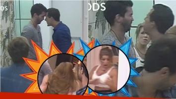 La pelea de Pablo y Alan en Despedida de solteros... ¡que terminó con escupítajos entre Karen y Angie!