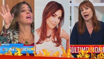 ¡La prenda de la discordia! Matilda Blanco y Sandra Borghi denostaron el atuendo y Ursula Vargues se defendió