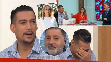 El sincericidio de Jorge Moliniers a Fabián Doman sobre el casamiento de Evelyn