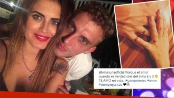 Silvina Luna se comprometió con El Polaco (Foto: Instagram)