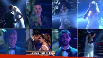 La emoción de los finalistas de Despedida de solteros al verse a un paso de su casamiento. Foto: Captura