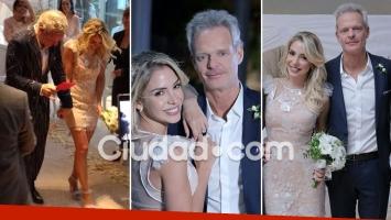 Se casaron Luly Drozdek y Hernán Nisenbaum. Foto: Ciudad.com