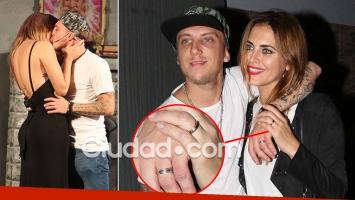 Silvina Luna y el Polaco se comprometieron y ahora también se besan en Abracadabra. (Foto: MovilPress - Ciudad.com)